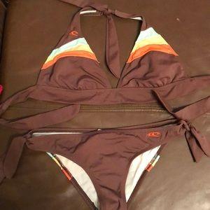 O'Neill halter bikini
